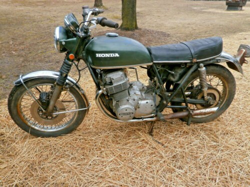 1971 Honda CB valley green craigslist