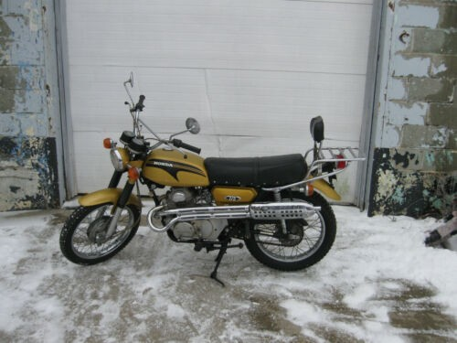 1971 Honda CL Gold for sale