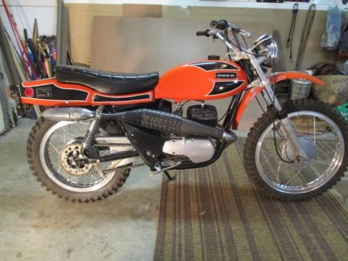 1971 Other Makes OSSA 250 PIONEER 5 SPEED Orange for sale