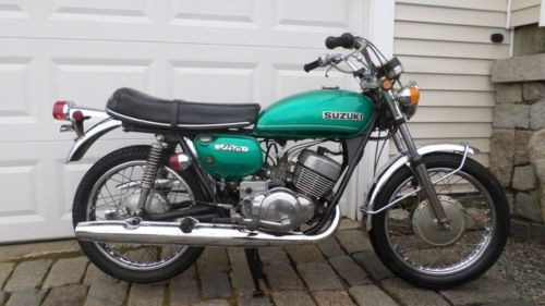 1971 Suzuki T250 HUSTLER STREET RACER GREEN for sale craigslist