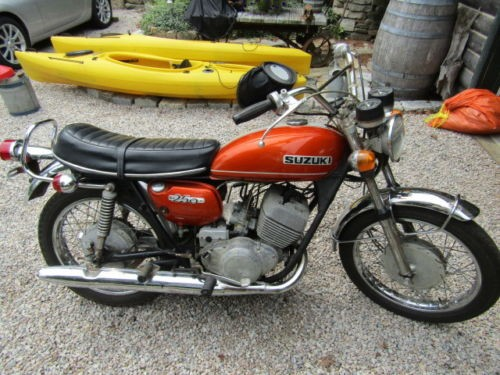 1971 Suzuki T250 Hustler Orange for sale craigslist