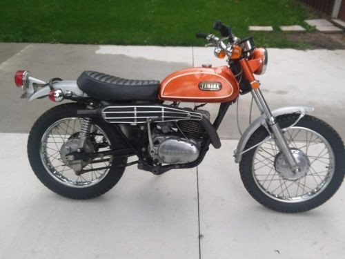1971 Yamaha DT1 Orange craigslist