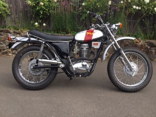 1972 BSA B-50 T Red/Silver for sale craigslist