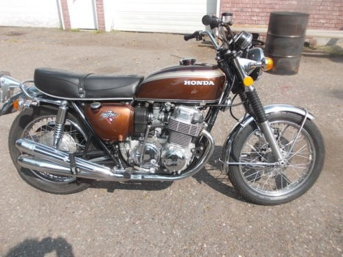 1972 Honda CB Brier Brown Metalic for sale craigslist