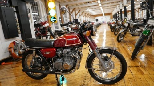 1972 Honda CB Flake Matador Red for sale craigslist