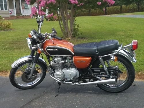 1972 Honda CB Orange craigslist