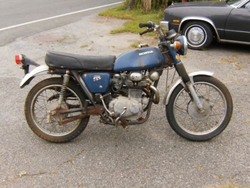 1972 Honda CL Blue for sale