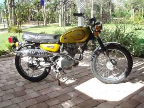 1972 Honda CL100 Gold/YELLOW for sale