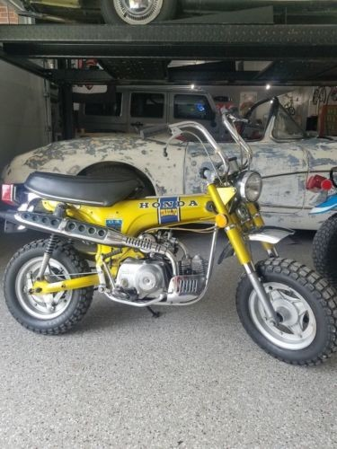 1972 Honda CT Candy yellow for sale craigslist