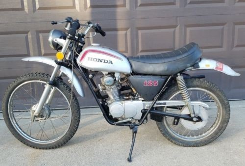 1972 Honda SL 125 100 Silver for sale craigslist