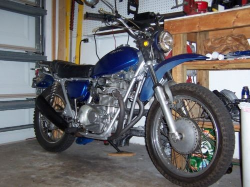 1972 Honda SL350 Blue for sale craigslist