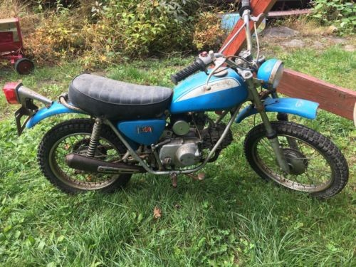 1972 Honda SL70 Original blue for sale craigslist