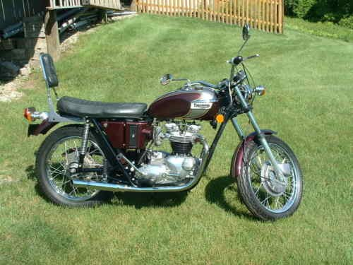 1972 Triumph Tiger MAROON / GRAY for sale craigslist