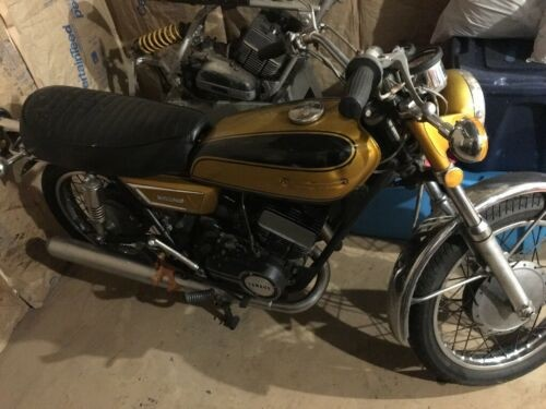 1972 Yamaha Ds7 Gold for sale
