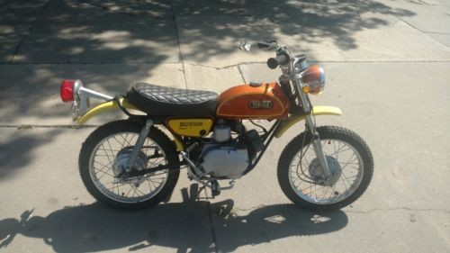 1972 Yamaha JT1 Mandarin Orange for sale