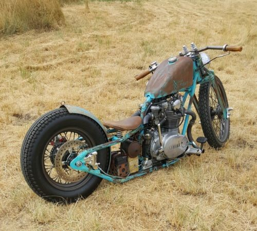 1972 Yamaha xs650 Rust / Turquoise for sale