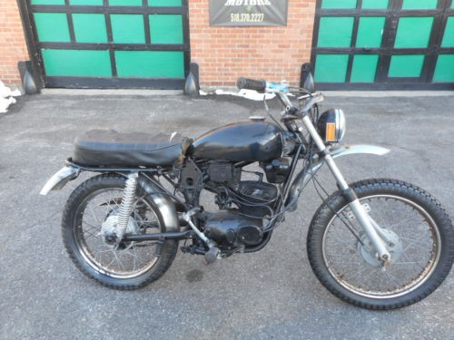 1973 Harley-Davidson HARLEY DAVIDSON SPRINT 100 Black for sale craigslist