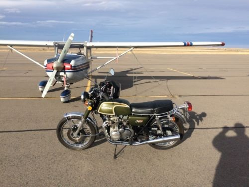 1973 Honda CB Green for sale