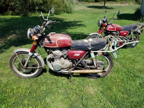 1973 Honda CB Red for sale