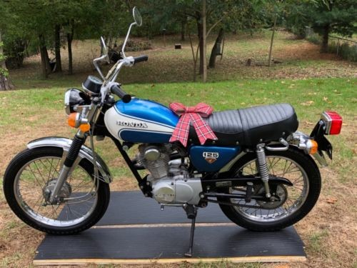 1973 Honda CL Blue for sale craigslist