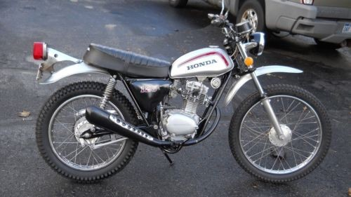 1973 Honda SL 125 Silver for sale craigslist