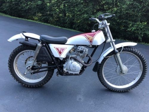 1973 Honda TL 125 Silver for sale