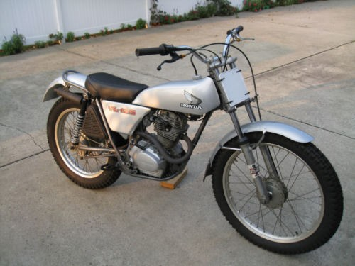 1973 Honda Trials Bike Silver for sale craigslist