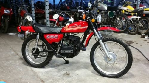 1973 Kawasaki ENDURO RED for sale craigslist