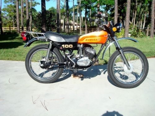 1973 Kawasaki G4TR Orange for sale craigslist