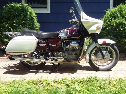 1973 Moto Guzzi 850 ELDORADO Purple for sale craigslist
