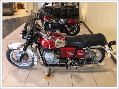 1973 Moto Guzzi Eldorado Burgundy for sale craigslist