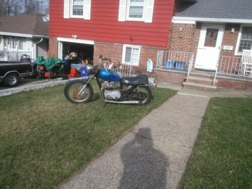 1973 Triumph Bonneville Blue for sale
