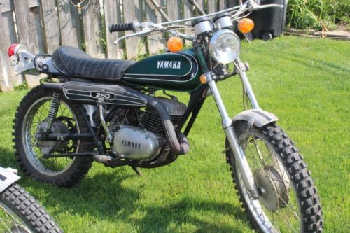 1973 Yamaha DT1 Green for sale