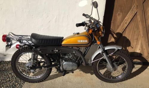 1973 Yamaha Enduro CT1 175 Gold craigslist