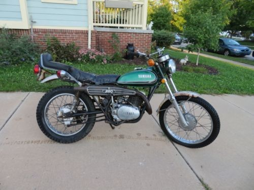 1973 Yamaha Enduro Green with Black Trim craigslist