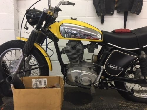 1974 Ducati 450 SCRAMBLER YELLOW for sale