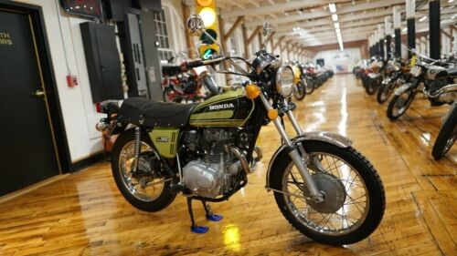 1974 Honda CL Muscat Green Metallic for sale