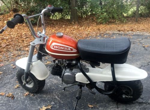 1974 Honda QA50 Orange for sale craigslist