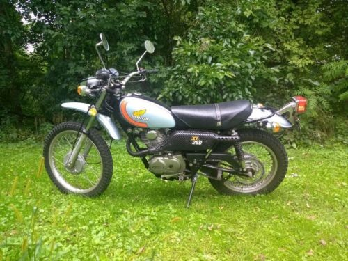 1974 Honda Xl250 Blue for sale