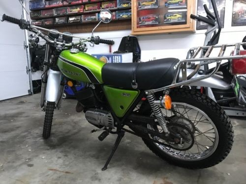 1974 Kawasaki KS125 Green for sale craigslist