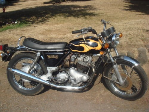 1974 Norton 850 Black for sale