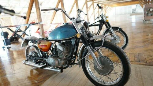1974 Suzuki T500L Titan Blue for sale