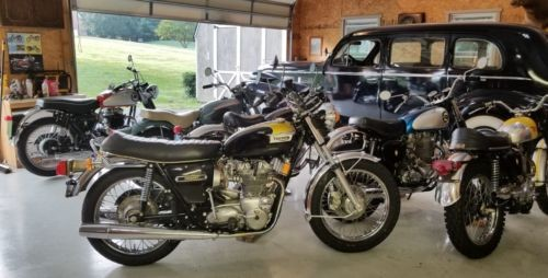 1974 Triumph Trident Gold and Black for sale