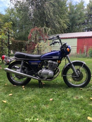 1974 Yamaha TX500 Blue for sale craigslist