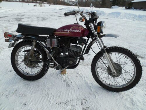1975 Harley-Davidson SX 125 for sale craigslist