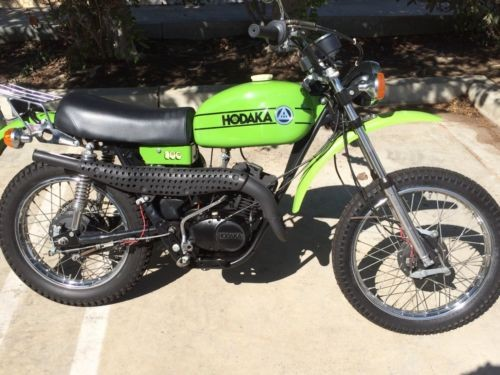 1975 Hodaka Road Toad Green for sale