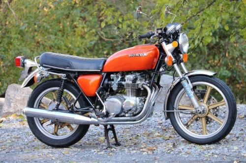1975 Honda CB Orange craigslist
