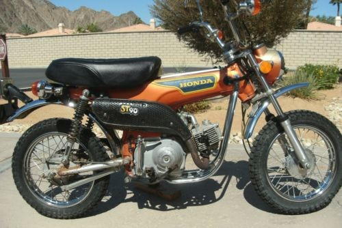 1975 Honda CT Candy Topaz Orange photo