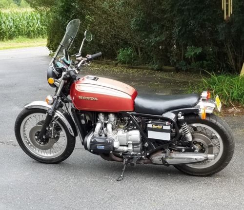 1975 Honda Gl1000 Red for sale