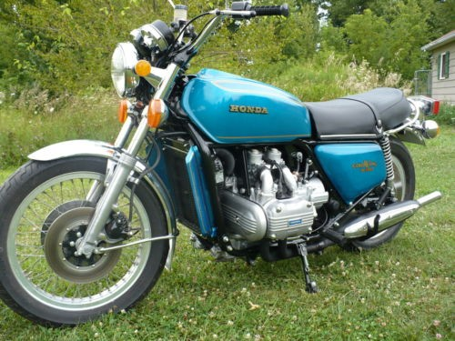 1975 Honda Gold Wing Blue for sale craigslist